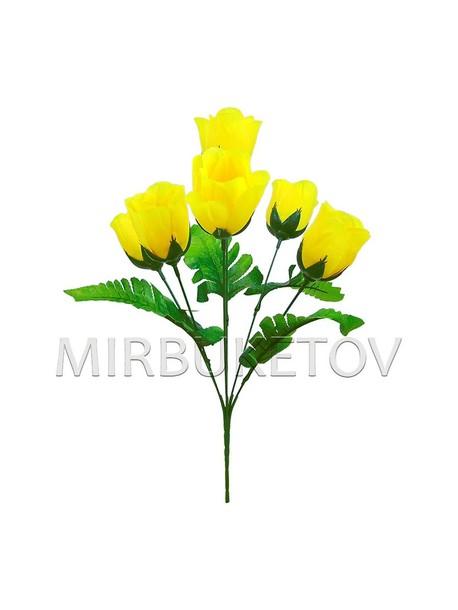 """Букет искусственной розы """"Сумы"""", 6 голов, 390 мм, M706"""