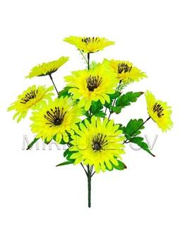 Искусственные цветы Букет Герберы, 9 голов, 450 мм