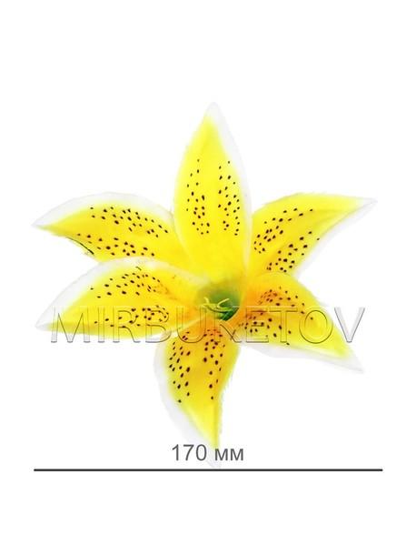 Искусственные цветы Лилия, шелк, 170 мм