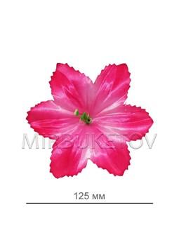 Пресс-цветок с тычинкой Мальва резная, 125 мм, A110