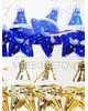 """Елочная игрушка """"Звездочка с шарфом"""", 90 мм, SY051"""