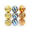 Елочные шары в колбе 3 шт, 100 мм