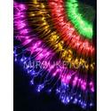 Гирлянда водопад LED разноцветная, 560 ламп, 3x2 м