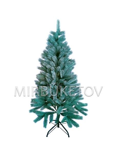 Искусственная литая елка, голубая, 1.5 м
