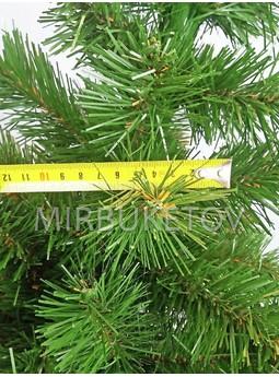 Искусственная елка ПВХ зеленая, 1.0 м