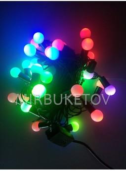 Гирлянда Шарики LED разноветная, 50 ламп, SL50ML-B