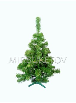 Искусственная елка ПВХ зеленая, 1.3 м, FirP10G