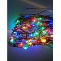 Гирлянда проволочная LED разноцветная, 100 ламп
