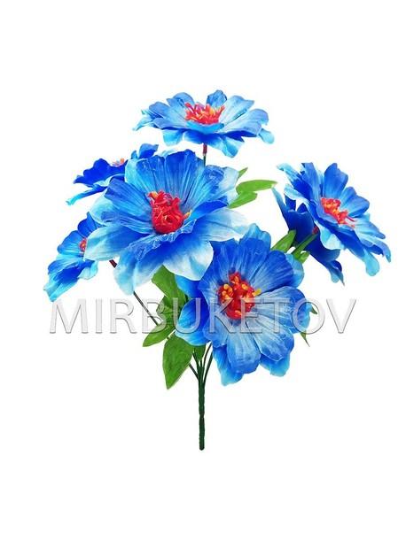 Искусственные цветы Букет Кувшинки, 7 голов, 390 мм