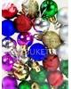 Елочные шары 24 шт в кульке, микс, 20 мм, Fmix24-1