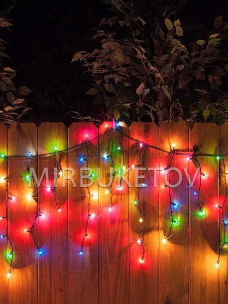 Профессиональная уличная гирлянда, 120 LED, мультик