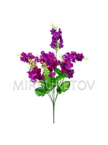 Искусственные цветы Букет Герани, 7 голов, 440 мм