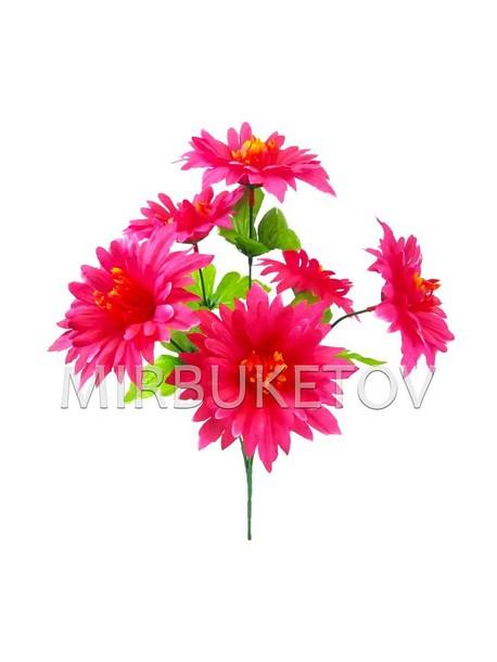 Искусственные цветы Букет Герберы, 6 голов, 380 мм