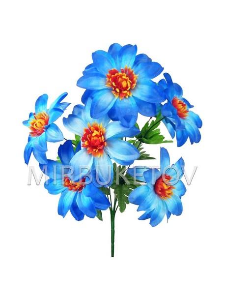 Искусственные цветы Букет Клематиса, 7 голов, 410 мм