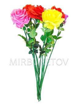 Искусственная Роза на ножке, 670 мм