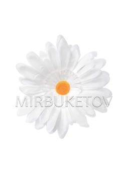 Ромашка белая, шелк, 140 мм, K112