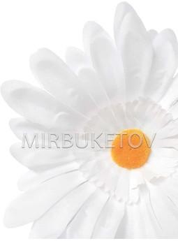 Ромашка белая, шелк, 140 мм