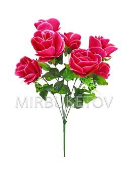 Букет искусственной Розы, 7 голов, 550 мм, Md874
