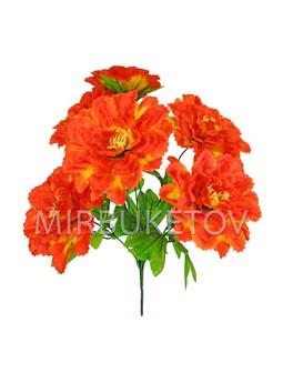 Искусственные цветы Букет Хризантемы, 7 голов, 410 мм