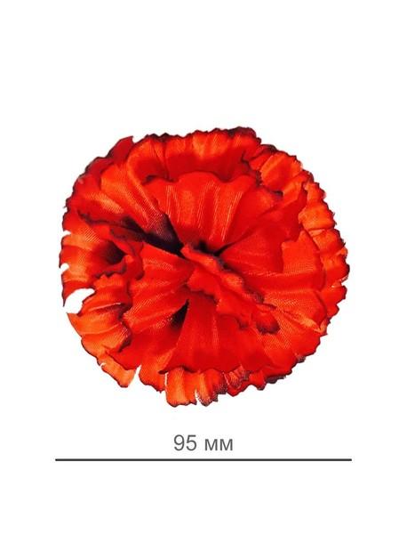 Искусственные цветы Гвоздика, шелк, микс расцветок, 95 мм