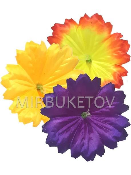 Искусственные Пресс цветы с тычинкой Петуния зубчатая, 120 мм