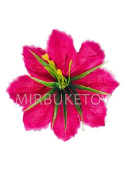 Пресцветок Лилия резная с тычинкой куст, 90 мм, A20709