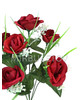 Букет на 7 голов искусственной розы, 370 мм, Mw10