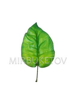 Лист Филодендрона текстильный, 300 мм, L209