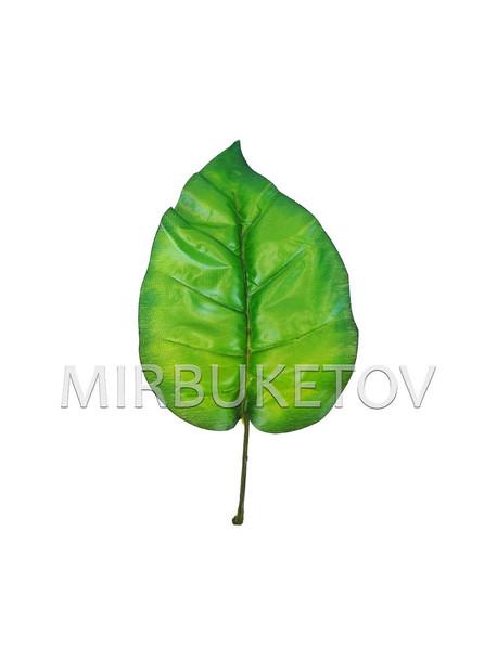 Лист Филодендрона текстильный, 300 мм