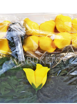 Бутон искусственной розы