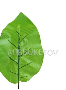 Лист Фикуса текстильный, 320 мм