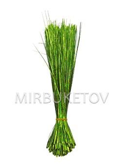 Добавка травка зеленая блестящая, 380 мм, D110