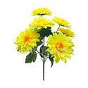Искусственные цветы Букет Клематиса, 7 голов, 570 мм