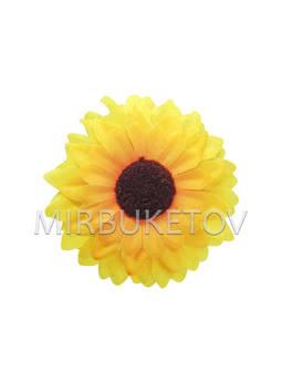Искусственные цветы Подсолнуха, шелк, 120 мм