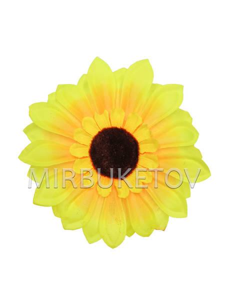Искусственные цветы Подсолнух, шелк, 170 мм