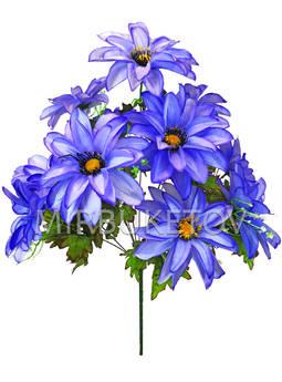 Искусственные цветы Букет Лотоса, 11 голов, 610 мм