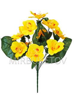 Искусственные цветы Букет Орхидеи, 12 голов, 510 мм