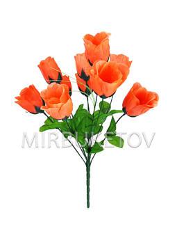 """Букет искусственной розы """"Николаев"""", 10 голов, 460 мм, M708"""