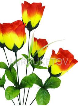 Букет искусственной розы