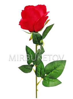 Искусственная роза на ножке, 620 мм
