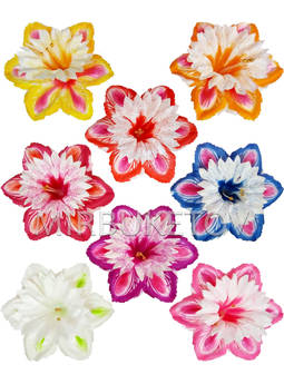 Пресс-цветок со вставкой Лилия, атлас, 150 мм, E6+B