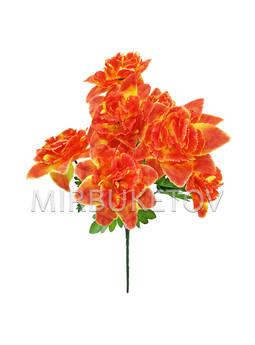 Искусственные цветы Букет Цветок Дракона, 7 голов, 440 мм