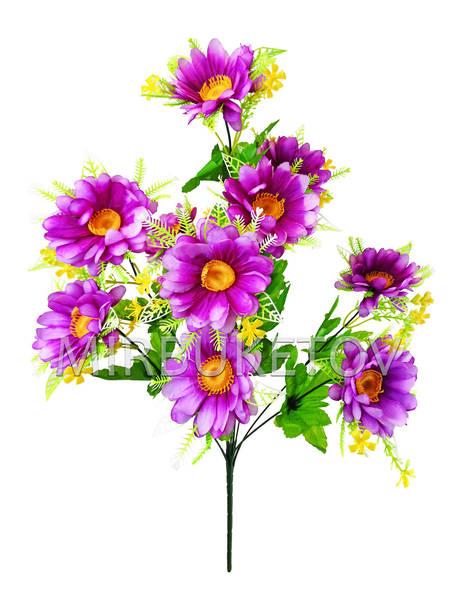 Искусственные цветы Букет Мальтийской Ромашки, 11 голов, 590 мм