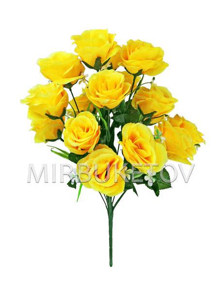 Букет искусственной Розы, 18 голов, 540 мм