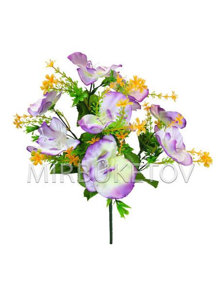 Искусственные цветы Букет Орхидеи, 9 голов, 380 мм