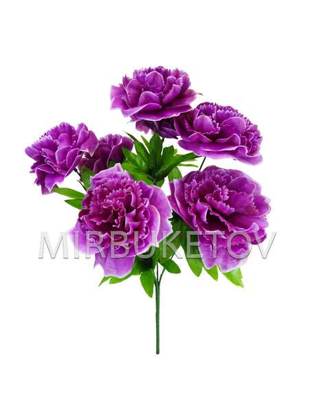 Искусственные цветы Букет Пиона, 7 голов, 430 мм