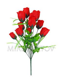 """Букет искусственной розы """"Черкассы"""", 12 голов, 570 мм, M711"""