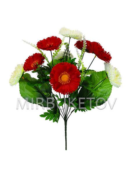 Искусственные цветы Букет Маргаритки, 9 голов, 440 мм
