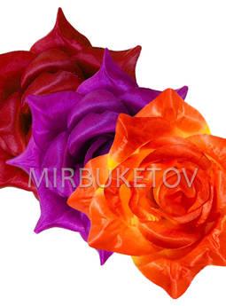 Роза атласная Великан, 210 мм, микс