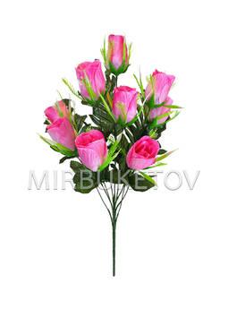 Искусственные цветы Букет Тюльпанов, 9 голов, 530 мм